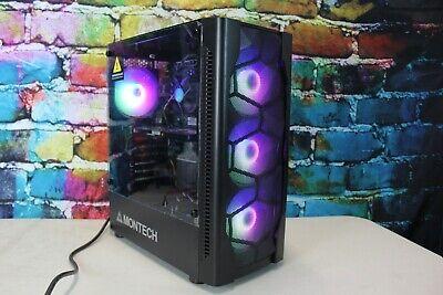 Custom Gaming Desktop PC Intel i5-750 2.67 Quad 8GB 500 GB AMD V5800 GDDR5 Wifi