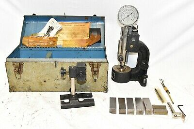 Shore Model D- Scleroscope Rockwell Hardness Tester Diamond Hammer Standards