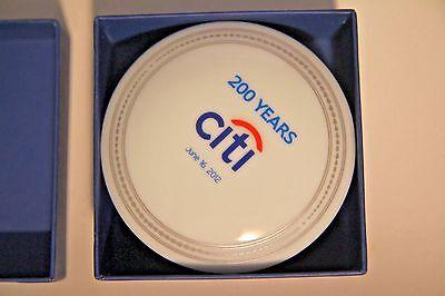 NEW Citi Bank New York 200 Year Anniversary Trinket Box Mottahedeh Porcelain