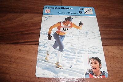 GERHARD GRIMMER / Nordischer Skisport -- Editions Rencontre S.A. Lausanne 1977
