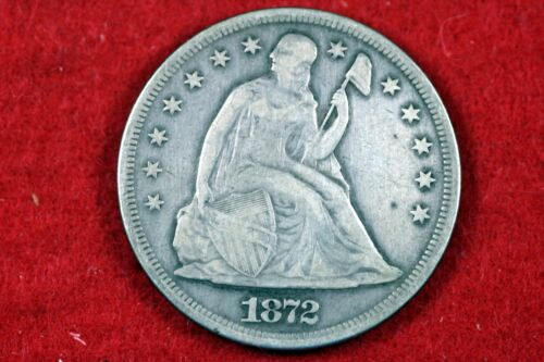 1872 - Seated Liberty Silver Dollars One Dollar!!  #H14037