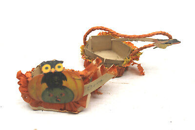 Halloween Candy Baskets (Early Antique C.A. Reed Co. USA Halloween Candy Basket Miniatures 3