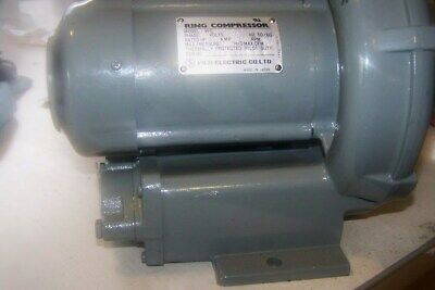 New Old Stock Fuji Vfc101a-4w Ring Compressor 3ph 460v Blower
