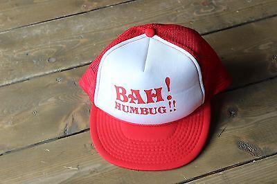 Vintage Bah Humbug Mesh Trucker - Bah Humbug Hat