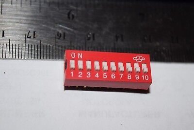 Grayhill Ds-10 20-pin 10-position Dip Switch New Quantity-25