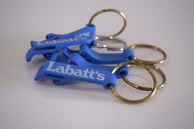 VINTAGE RARE Labatts Beer Bottle Opener Keychains - Lot Of 5