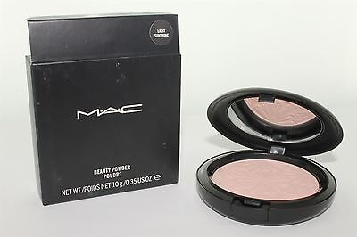 - MAC Beauty Powder Light Sunshine 10g/0.35 Oz. NIB Guaranteed Authentic