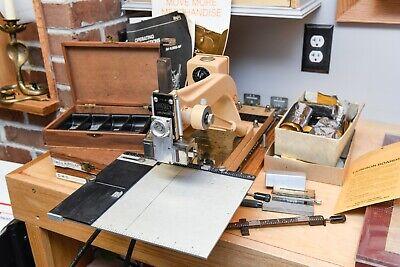 Kingsley Machine Lot Hot Foil Stamping Machine 2 Line Model Lm-55nf Luggage