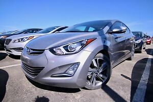 2015 Hyundai Elantra LIMITED, NAVI, LEATHER, SUNROOF, REAR VIEW