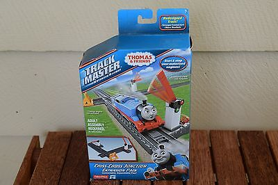 NEW Fisher Price Thomas Friends Criss Cross Junction Expansion Pack TrackMaster