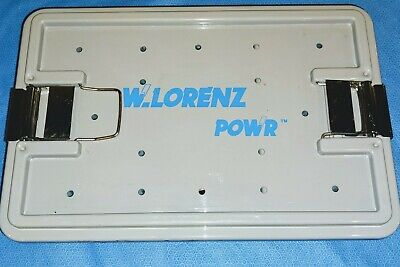 Biomet Zimmer W. Lorenz Small Bone 25k Drill Set Power Driil Sagittal Wire