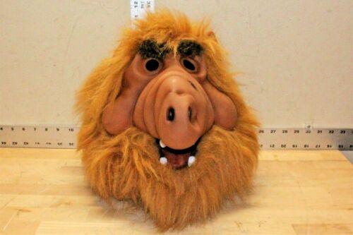Vintage Alf Rubber Mask Cosplay Costume Adult Halloween 1980