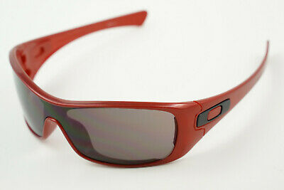 Oakley Antix #03-704 Metallic Red/Grey Sunglasses 03-704 131 (Ducati (Antix Oakley Sunglasses)