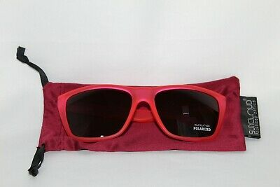 0ef329a7c20aa SunCloud Standby Sunglasses Electric Pink Frame Polarized Lens Medium Fit  NEW