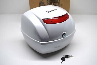 Piaggio Vespa S / LX 125 32LT Top Box Top Case Diamant White 525 - 67394900BM