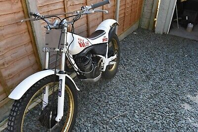 Yamaha Trials Bike TY250 mono shock 1988/89