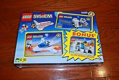 Lego 6469 System Spaceport Bonus Pack - New, Sealed!