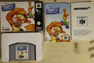 Tigger's Honey Hunt - OVP/CIB Boxed Nintendo 64 N64 PAL