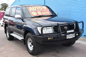 1998 Toyota Landcruiser FZJ105R GXL Wagon 8st Auto 4sp 4x4 4.5i Enfield Port Adelaide Area Preview