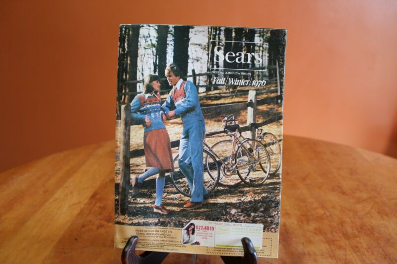 Vintage Sears Roebuck & Company Fall Winter 1976 Catalog 1,526 Pages Seattle