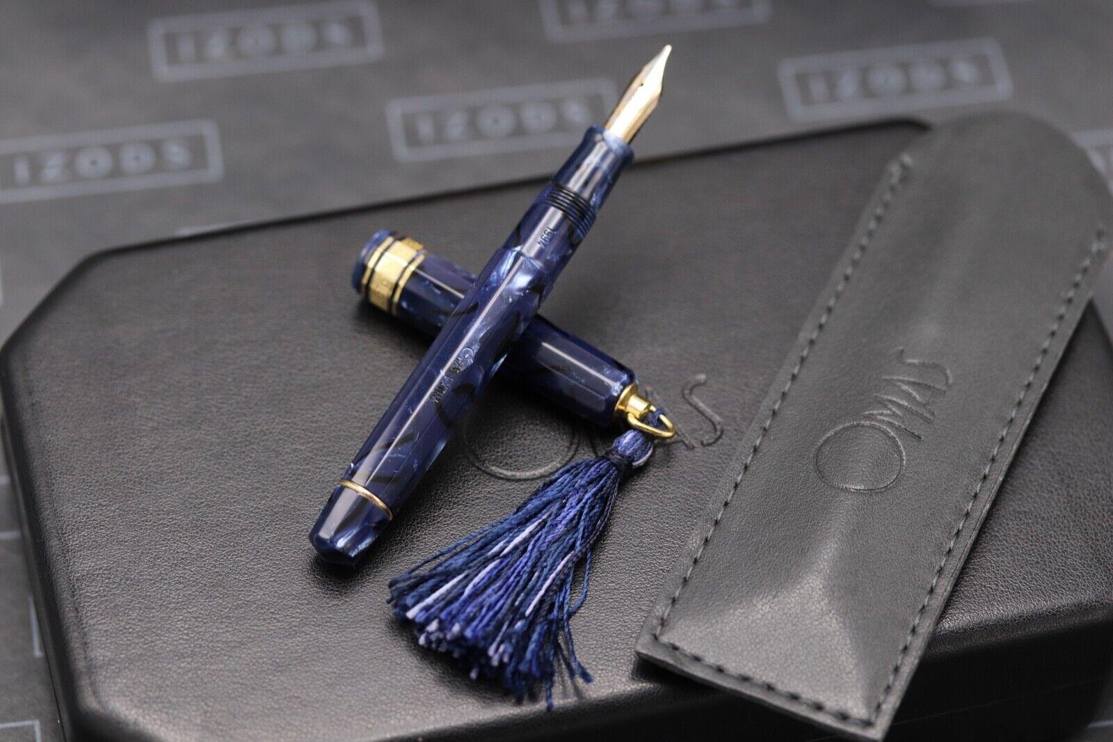 Omas Princess Blue Royale Celluloid Fountain Pen 1