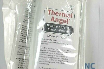 New Thermal Angel Ta-200 Blood Iv Fluid Infusion Warmer 6515-01-500-3521