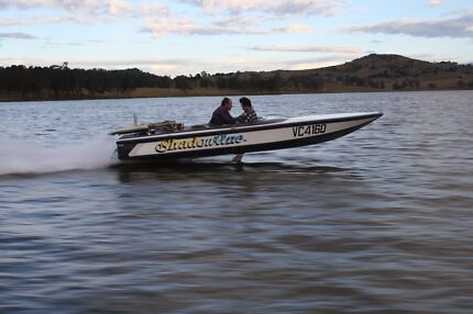 Stephens 18ft ski race boat small block chev Kalbar Ipswich South Preview