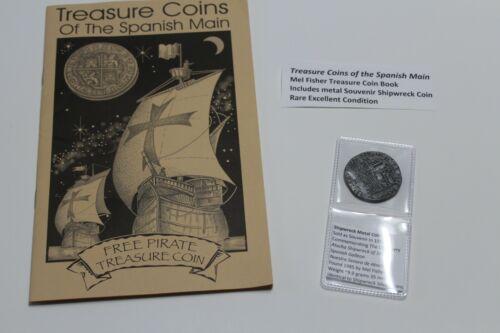 1622 ATOCHA Treasure Coin Replica and book Treasure Coins of the Spanish Main