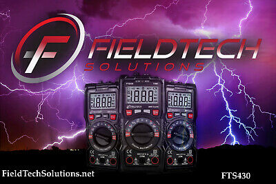 Fieldtech Solutions Fts430 6000 Count Mutimeter With Auto Range