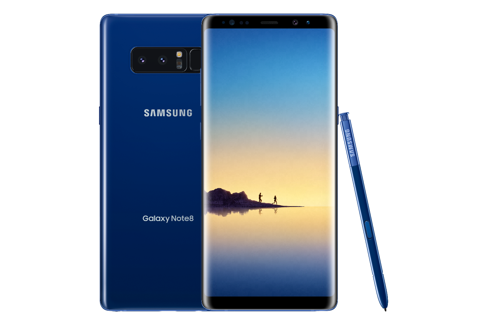 Samsung Galaxy Note8 SM-N950U - 64GB - Black Blue Gray (Verizon) Unlocked B