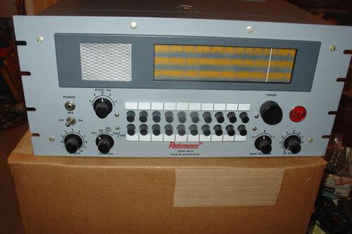 RCA Radiomarine CRM-R1A Receiver (2 - 30 Mc) Unused -Crystal Controlled Channels