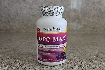 HealthyMate OPC-MAX Isotonic Antioxidant  Supplement  w/8 Ingredients, 50 days