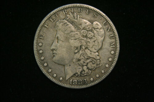 1883 Morgan Dollar, VG Very Good or Better, 90% Silver US Coin, Free Shipping!