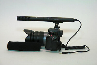Pro a9 VM SC video mic for Sony a9 a7R III a7S II a7 II camera better (Best Sony Pro Cameras)