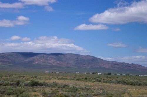 9.15 AC~GORGEOUS NEVADA RANCH~OWN BOTH SIDES OF HWY 306~RARE NEAR GOLD MINES
