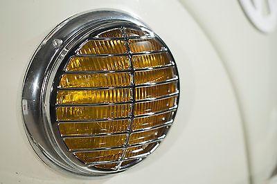 Faro Parrilla Triple Cromo Para VW Splitscreen Escarabajo 356 Porsche AAC002