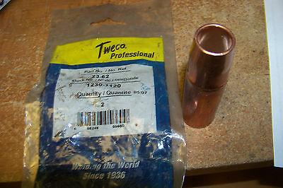 New Tweco 23-62 Self Insulated Mig Welder Nozzle