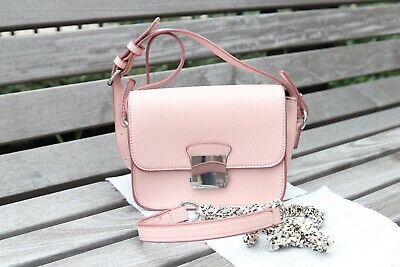 ZARA Women's Mini Shoulder Bag Pink Leather Strap - Excellent condition