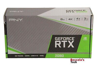 PNY GeForce RTX 2080 8GB GDDR6 Graphics Card P/N: VCG20808BLMPB