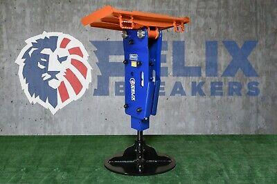 Felix Hydraulic Hammer Breaker 2.68 Tool Fit To 8000 To 16000lbs Mini Excavator