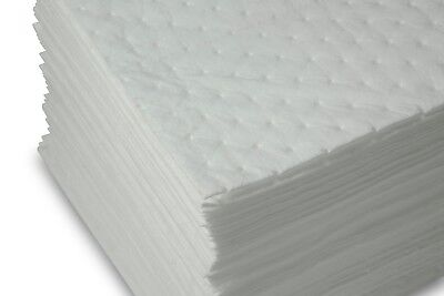 Oil Absorber Sheet - Oil Only ABSORBENT PADS BP200 -Light Weight Sheets 200ct  AABACO *FREE SHIPPING