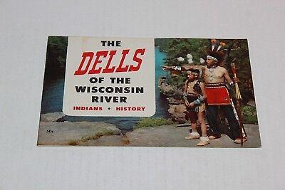 Vintage Travel Brochure Wisconsin Dells 1954