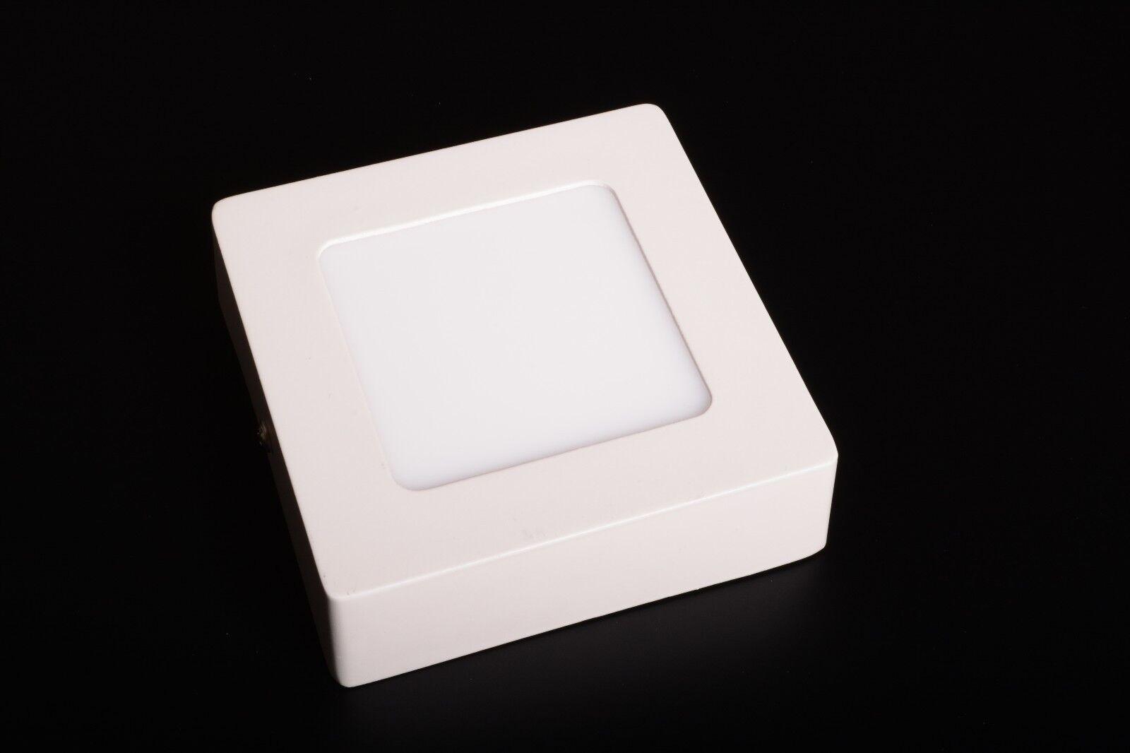 Plafoniere Quadrate Soffitto : Faretto led da soffitto parete plafoniera 6w quadrato 120x120 bianco