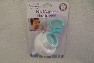 Summer Infant Baby Nasal Congestion Aspirator New  (Summer Infant Aspirator)