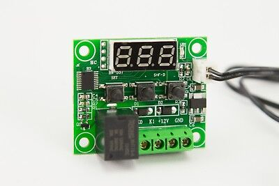 New 12V 50-110 Degree DIGITAL THERMOSTAT CONTROLLER Temperature Control Switch Temperature Control Switch