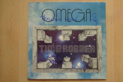 "Omega Band Autogramme signed LP-Cover ""Time Robber"" Vinyl"