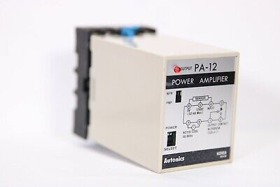 Autonics Pa-12 Pa12 Power Amplifier