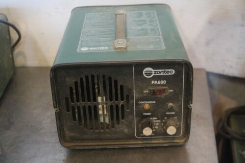 ZONTEC PARAGON GROUP ELECTRONIC OZONE DEODORIZER MODEL PA600B