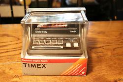 Vintage TIMEX Wake Easy Electronic Digital Alarm Clock 5218-530 Hong Kong  NIB