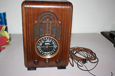 ZENITH Tombstone Model 5-S-228 5 tube,AM Shortwave, Restored